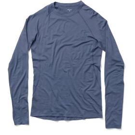 Houdini Desoli Crew Shirt Herr spokes blue